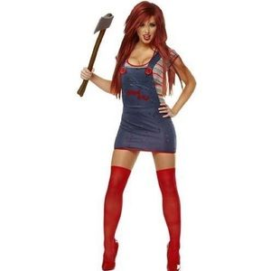 Chucky women's costume size small